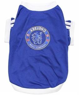 New Pet Apparel Chelsea FC Dog & Cat Jersey Soccer Football