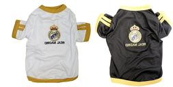 New Pet Apparel Real Madrid FC Dog Jersey Soccer Football T