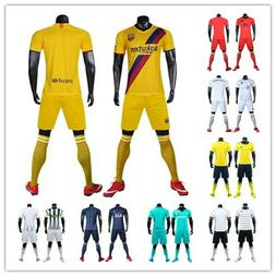 New season Adult Soccer Jersey with short sleeve Men's tra