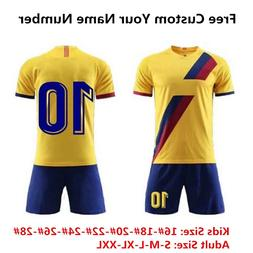 New season Team Sport Kit Men Kids <font><b>Jersey</b></font