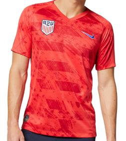 NEW USA AWAY SOCCER JERSEY 2019 GOLD CUP RED AWAY MEN SIZE J