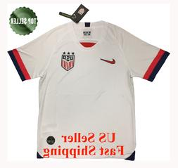 NEW USA HOME SOCCER JERSEY 2019 GOLD CUP WHITE HOME MEN SIZE