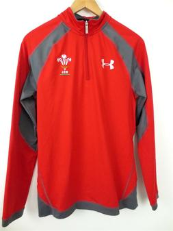 New UNDER ARMOUR Wales WRU World Cup Soccer Training Shirt j