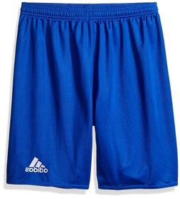 NEW adidas Youth Parma 16 Shorts, Bold Blue/White, Black/Whi