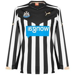 "Newcastle United Long Sleeve Home Jersey 2014 â€"" 2015"