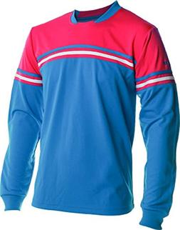Vizari Newport Goal Keeper Jersey, Blue/Pink/White, Youth X-