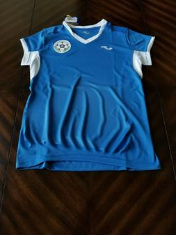 Joma Nicaragua 2019 soccer women jersey - Home Away white bl