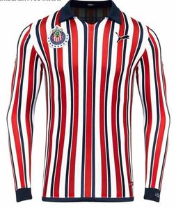 NWT Chivas Home Club World Cup Jersey Long Sleeve 18/19 Jers