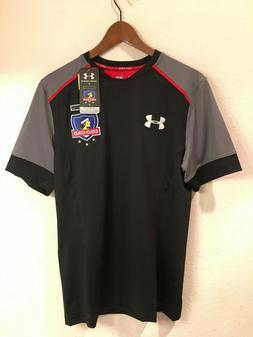 NWT Colo-Colo authentic Under Armour soccer football jersey