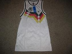 NWT Germany Adidas Tank Top Women's Soccer Jersey Dress XS W