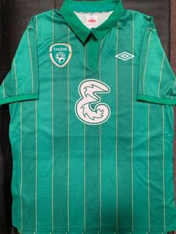 NWT Umbro Ireland 2011/2012 Home Jersey Soccer/Football - Ad