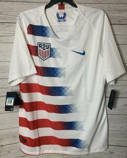 NWT Nike Mens M 2018 USA Stadium Home Soccer Jersey 893902-1