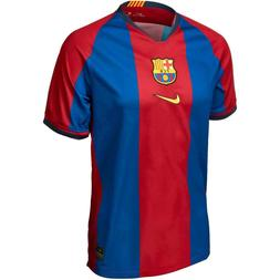 NWT NEW Nike FC Barcelona Home Soccer Jersey No Sponsor Yout