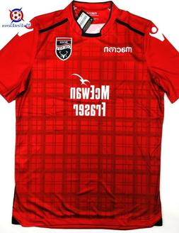 NWT ROSS COUNTY 2018/19  Away Macron Soccer Jersey Football