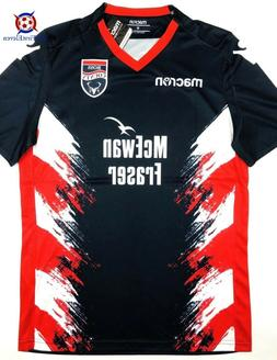 NWT ROSS COUNTY 2018/19  Home Macron Soccer Jersey Football
