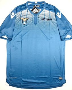 NWT SS LAZIO 2015/16 XL Home Macron Soccer Jersey Football S