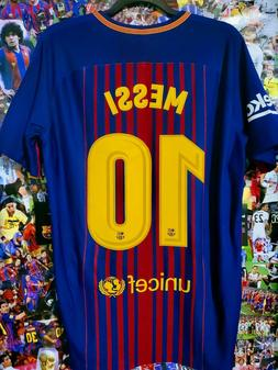 OFFICIAL FC BARCELONA 17-18 PLAYER ISSUE NIKE MESSI 10 SOCCE