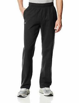 Champion Men's Authentic Open Bottom Jersey Pant, Small - Bl