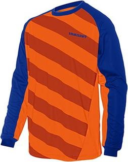 Vizari Padova Goalkeeper Jersey, Orange/Royal, Youth Medium