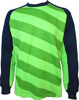 Vizari Padova Goalkeeper Jersey, Green/Navy, Youth Large