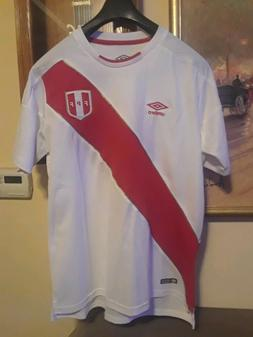 Umbro Peru Home Jersey- SIZE LARGE