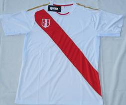 Peru Men National Team Soccer Jersey Camisetas Seleccion Nac