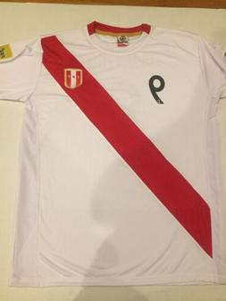 Peru Soccer Jersey Paolo Guerrero #9 size L Large stock in U