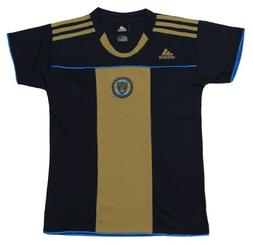 Philadelphia Union MLS Toddlers Home Replica Jersey Top, Bla