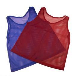 Pinnies Youth Practice Team Jerseys Mesh Scrimmage Training