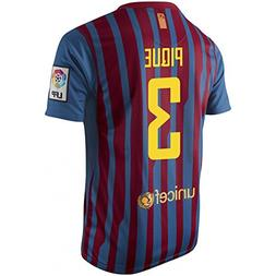 PIQUE #3 FC Barcelona Home Jersey Short Sleeve YOUTH.