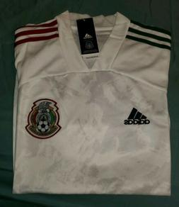 playera seleccion mexicana blanca visita away jersey