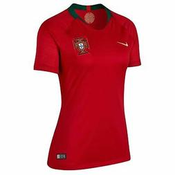 Nike Portugal Home Jersey 2018 Womens Red Football Soccer To
