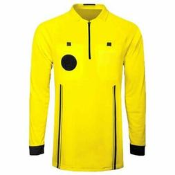 1 Stop Soccer Pro Referee Soccer Jersey Long Sleeves Free Re