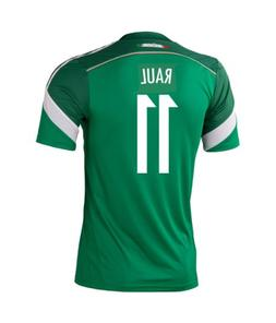 Adidas RAUL #11 Mexico Home Jersey World Cup 2014 YOUTH