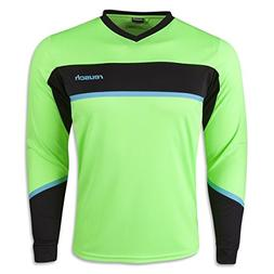 Reusch Soccer Adult Razor Goalkeeper Jersey, Green, Small