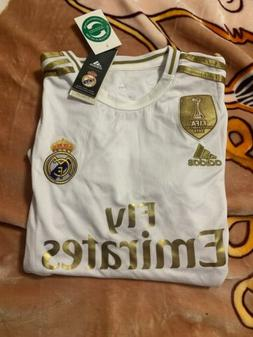 Adidas Real Madrid Home Soccer Jersey 2019-2020 Champions Pa
