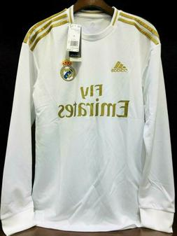 REAL MADRID HOME Soccer JERSEY Long Sleeves - Adidas Men's -