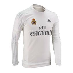 real madrid long sleeve soccer home jersey