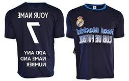 Real Madrid Soccer Jersey Men's Adult Training Custom Name a