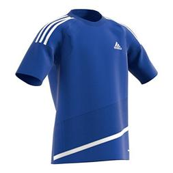 Adidas Regista 16 Youth Soccer Jersey L Bold Blue-White