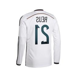 fe4d7011ac5 Adidas REUS  21 Germany Home Jersey World Cup 2014