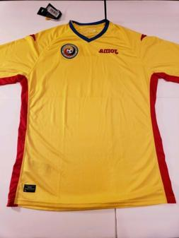 Joma ROMANIA National Team Soccer Jersey Uniform Shirt NWT