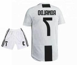 Ronaldo Juventus 7 Home Soccer Jersey & Shorts Youth Sizes