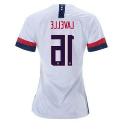 NIKE ROSE LAVELLE #16 USA 2019 WORLD CUP WOMEN'S HOME WHITE