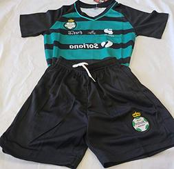 New! Santos Laguna Generic Replica 2 PC Set Toddler 4T