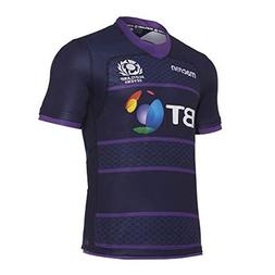 Macron 2017-2018 Scotland 7s Poly Home Rugby Football Soccer