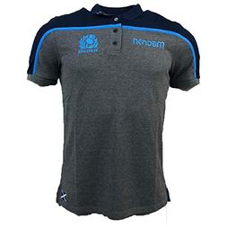 Macron 2018-2019 Scotland Rugby Official Poly Cotton Polo Fo