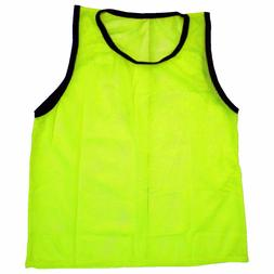 SCRIMMAGE VESTS SOCCER BASKETBALL FOOTBALL  ADULT PINNIES JE