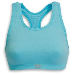 Zensah Seamless Sports Bra - Best Sports Bra for Running, Co