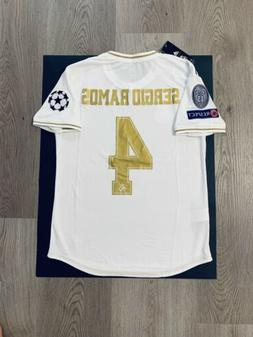 Sergio Ramos Soccer Jersey Player Version Real Madrid Home 1